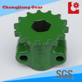 Spray Der grüne Kunststoff-Flansch