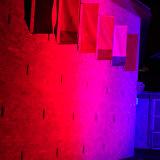 Luz impermeável da lavagem da parede do edifício