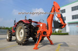 Backhoe Lader van de Emmer van de Tractor van het Graafwerktuig 3-Point