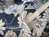 Blume gedrucktes Polyester-Gewebe für Frauen-unten Umhüllungen