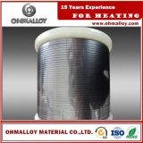 Alambre caliente de los repartos Fecral21/6 0cr21al6 para el resistor del extractor