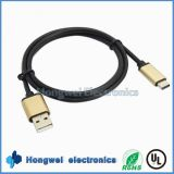 Retractable Big Current USB 2.0 a Cable USB Tipo-C