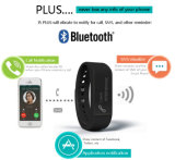 Lowpower Consumption Bluetooth V4.0 relógio de pulso inteligente pulseira