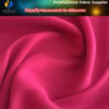 50d Poliéster Sateen Stretch Texturizado Tecido de fios para vestuário feminino (R0156)
