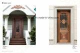 Porta de cobre simples, mas não é simplicidade