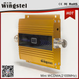 impulsionador do sinal da faixa do mini tamanho de 3G WCDMA 2100MHz India único