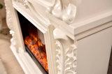 Découpant la cheminée électrique de meubles à la maison en bois de Resing (327B)