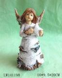Métier de figurine de statue de Noël pour la décoration à la maison