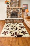 パッドを入れられた刈ってある羊皮のハンドメイドの詰められた床の敷物