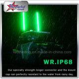 L'indicatore luminoso luminoso eccellente di ATV sbatte le singole fruste di colore LED per la bandierina di sicurezza di UTV 4FT 5FT 6FT 8FT LED per la jeep