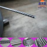 Fil d'acier contraint d'avance avec le MPA de Diameter7 mm1570