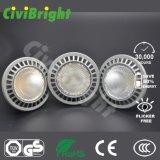 Aluminio de RoHS del Ce, luces blancas de la hora solar LED de la luz PAR30 14W de la IGUALDAD del shell LED
