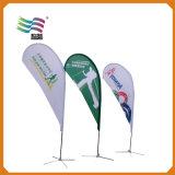 Дешевый изготовленный на заказ рекламируя флаг Teardrop полиэфира с печатание (HY-AS126)