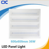 el panel de Downlight LED de la visualización de LED 36W de 595*595m m