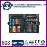 Pintura promocional PVC Case 214PCS Art Set for Kids