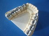Coroa do metal do titânio & do ouro feita no laboratório dental de China