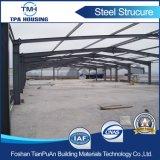Il tetto prefabbricato di Slop della struttura d'acciaio lega il magazzino