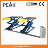 Cylindres hydrauliques Double plate-forme cisailles de levage pour auto