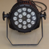 IP65 imprägniern 18X10W RGB 3in1 Stadiums-Wäsche NENNWERT Licht des Summen-LED für im Freien