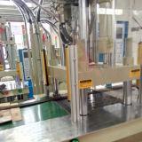 Tipo vertical máquina 45t da modelação por injeção de borracha de silicone da tabela da corrediça
