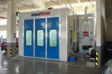 Semi cabine automobile de peinture de maintenance de cabine de jet de courant descendant