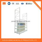 Justierbare Hochleistungsladeplatten-Zahnstange/industrielles Lager-Speicher-Regal