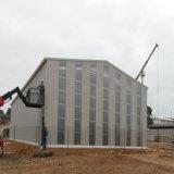Taller popular de la casa del acero estructural del bajo costo