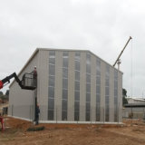 Populäre niedrige Kosten-Baustahl-Haus-Werkstatt