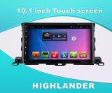 De androïde GPS van het Systeem DVD Video van de Auto voor Hooglander 2015 het Scherm van de Aanraking van 10.1 Duim met WiFi/Bluetooth/TV