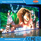 Pantalla video de alquiler al aire libre de la pared de Cheap&Good P10 LED