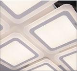 장식 주거를 위한 우아한 사각 LED 천장 점화 수정같은 빛
