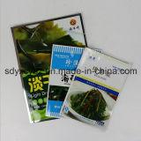 SGSが付いている毎日の食糧のためのサイズによってカスタマイズされた平らなプラスチック包装袋は承認した