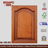 Puerta de cabina de madera sólida de cocina de la laca (GSP5-026)