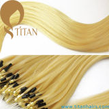Blond Virgin Brazilian Micro Ring Hair Extensão (TT392)