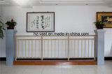 Barandilla de acero galvanizada decorativa de alta calidad 25 del balcón de la aleación de Haohan Alluminum
