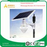 luz de tierra accionada solar del jardín de la iluminación al aire libre LED de 9W 12W 18W