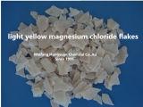 共通か薄黄色のマグネシウムの塩化物はのために氷溶けるはげる