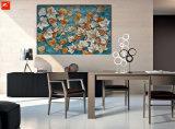 De gevallen Esdoorn verlaat Met de hand gemaakt Olieverfschilderij voor het Decor van het Huis
