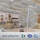 Panneau de plafond de marbre de PVC de modèle