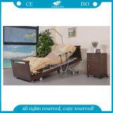 AG-W001 5-Function Linak едет на автомобиле выдвинутая древесиной кровать Homecare