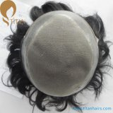 Invisible Knots Durable Mono Base Swiss Lace Front Toupee