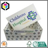 取り外し可能なふたOEMの色刷の波形の赤ん坊の安全なスリープボックス