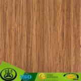 Papel de madera de la melamina del grano como papel decorativo para el suelo, muebles