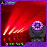 DMX 19X15W abeja de ojos Disco móvil LED 4en1 luz de la cabeza