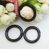 Metal O Shape Snap Spring Ring para saco