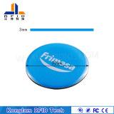 Intelligente RFID Marke des runden Münzen-elektronischen Drucken-für den Form-Gleichlauf