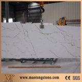 Dalle en pierre à quartz artificiel avec quartz blanc