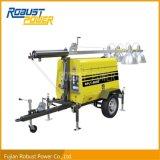 torretta di illuminazione mobile della lampada Halide di metallo 4*1000W Rplt-6000
