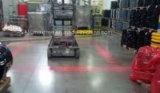 80V販売のための赤いゾーンライトフォークリフトの安全燈