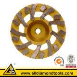 고품질 단 하나 줄 다이아몬드 가는 컵 바퀴 (HCPS)
